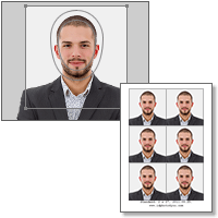 1x1 id picture software free
